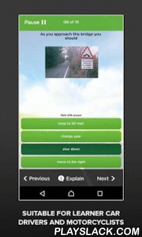 Theory Test UK Free 2016 DTS  Android App - playslack.com ,  Driving Test Success has helped over 8 MILLION prepare for their tests.This free app will give you a taster of what you can expect to find in the full version of Theory Test UK from Driving Test Success. FEATURES:• Practise a sample of questions from the official revision question bank licenced directly from the Driver and Vehicle Standards Agency (DVSA), the people who set the test. • Essential revision for learner car drivers and…