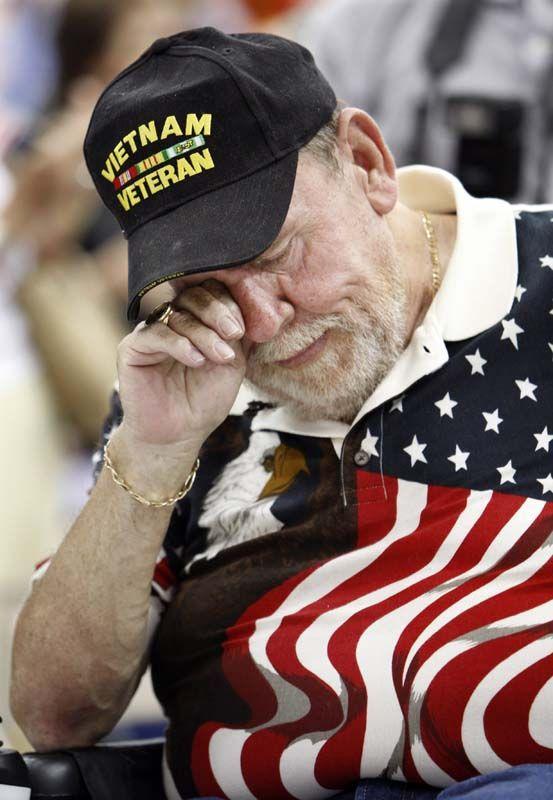 a veteran's tears
