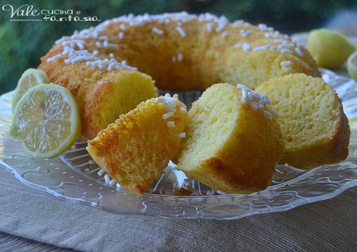 Ciambella con ricotta e limone ricetta leggera buona soffice e leggera ideale per colazione o merenda ricotta e limone un connubio perfetto!