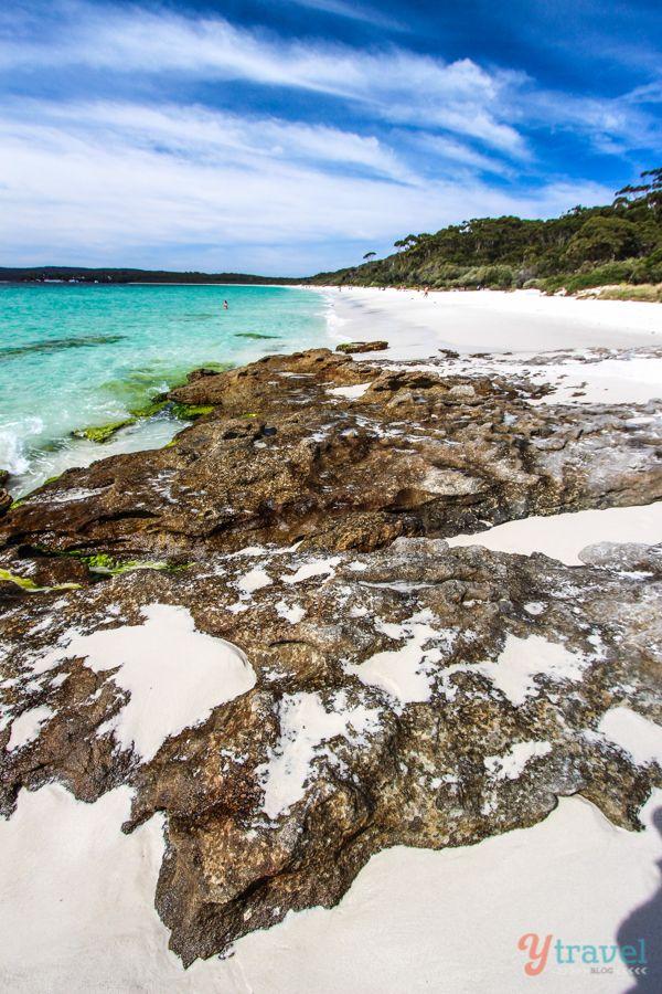 Visit beautiful Hyams Beach in Jervis Bay, NSW, Australia