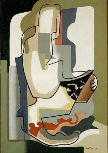 O leitor, s/d Maurice Estève ( França, 1904 – 2001)