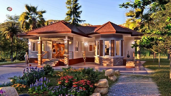 Contemporary Three Bedroom Bungalow That Can Be Remodeled To Include Another Bedroom Cool House C Bungalow House Design Beautiful House Plans Bungalow Design