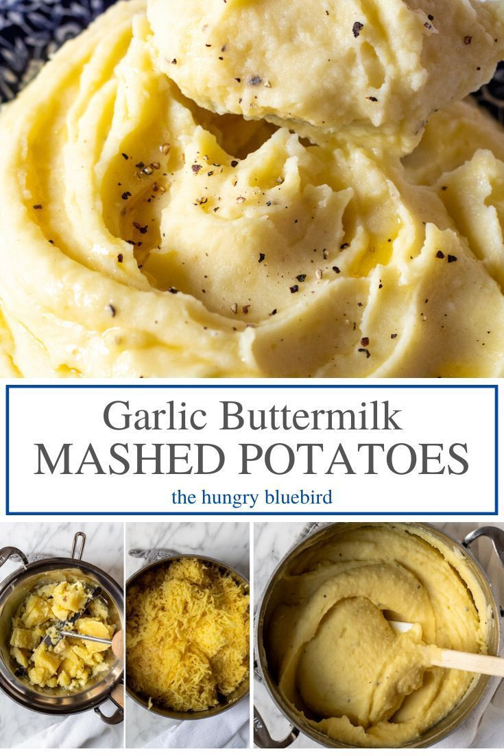 Garlic Buttermilk Mashed Potatoes Recipe In 2020 Buttermilk Mashed Potatoes Mashed Potatoes Food Mills