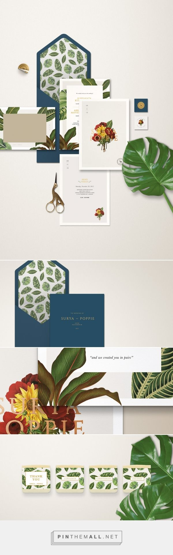 Surya & Poppie Wedding Suite by diasty hardhikaputri | Fivestar Branding Agency – Design and Branding Agency & Curated Inspiration Gallery