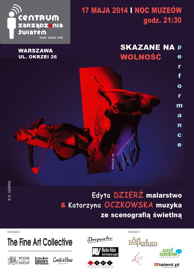Centrum Zarządzania Światem - performance - E. Dzierż i K. Oczkowska