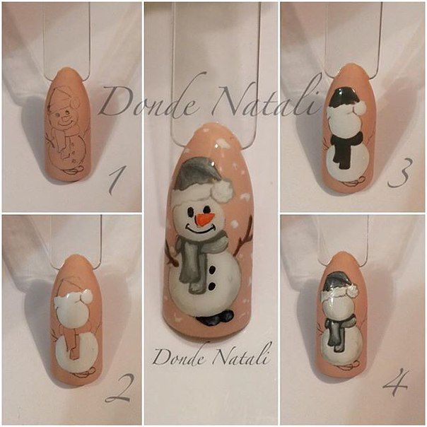 @pelikh_Дизайн ногтей для зимы и Нового г..
