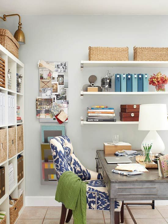 128 best images about our favorite desks on pinterest for Creative desk solutions