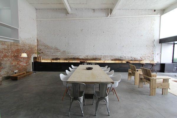 Salón comedor, Espacio Blanco