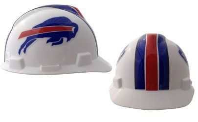 MSA NFL Ratchet Suspension Hardhats - Buffalo Bills  http://allstarsportsfan.com/product/msa-nfl-ratchet-suspension-hardhats/?attribute_pa_color=buffalo-bills  Great way to show your team spirit for your favorite NFL team Perfect to wear on the job or at the game Makes a great gift for any football fan