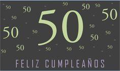 Invitaciones De Cumpleaños 50 Años En Hd Gratis Para Descargar 4 en HD Gratis