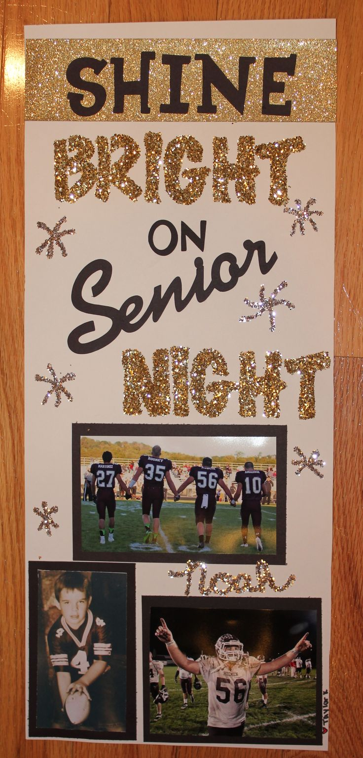 Shine bright first game night. Could do something similar for cheer comps.