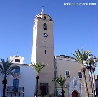 Iglesia de Santa Maria - Albox town - Almeria