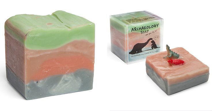 This Archaeology Soap Has Hidden Dinosaurs Inside | Bored Panda
