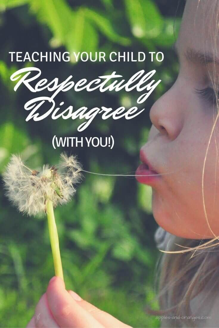 Teaching your child how to respectfully disagree provides them with an essential…