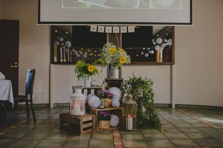 Rustic wedding decoration // Rustiikkinen hääkoristelu