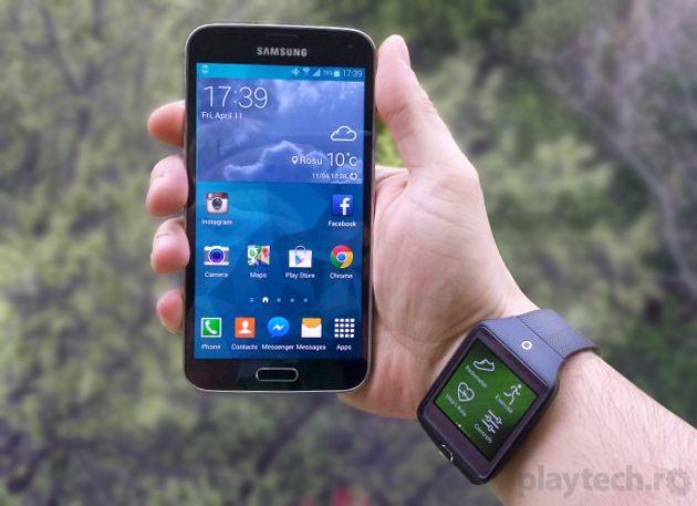 Samsung Galaxy S5 + Gear 2 Neo - Un cuplu de senzație [REVIEW]