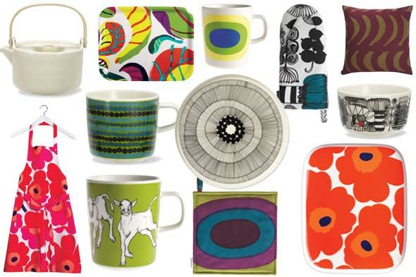 Crate and Barrel + Marimekko