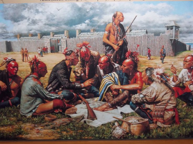 153 best colonial america images on pinterest colonial america robert griffing the conspiracy fort michilimackinac 1763 sciox Images