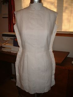 Sew a custom Princess Seam Cover for your dressform