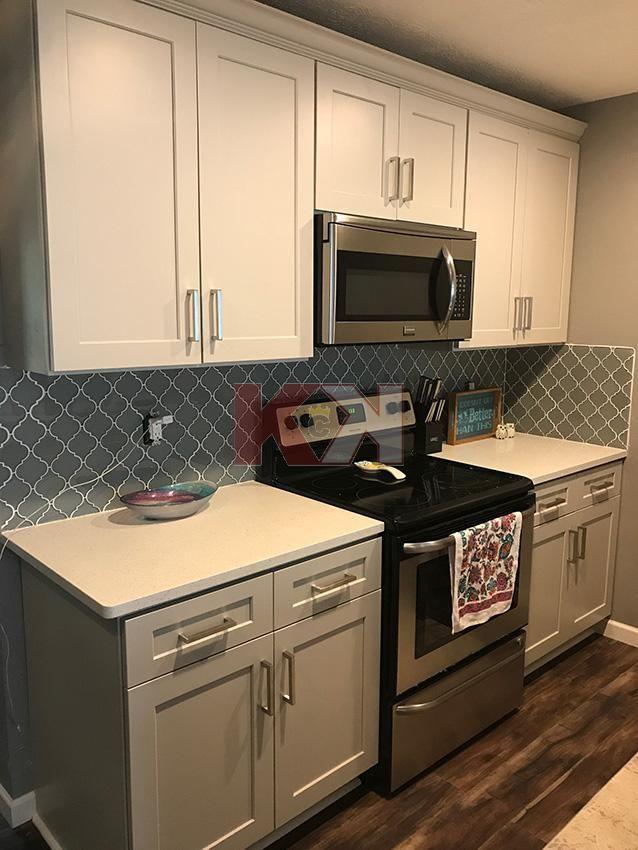 Shaker Light Gray Cabinets By Kitchen Cabinet Kings Beautiful
