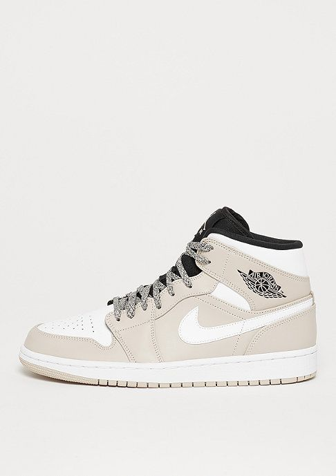 Commander JORDAN Air Jordan 1 Mid desert sand white black chez SNIPES ! df40a1c700