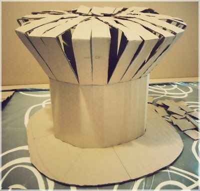 Jump in my zeppelin!: ✄ ✄ DIY - Mad as a hatter! Chapeau de chapelier fou!