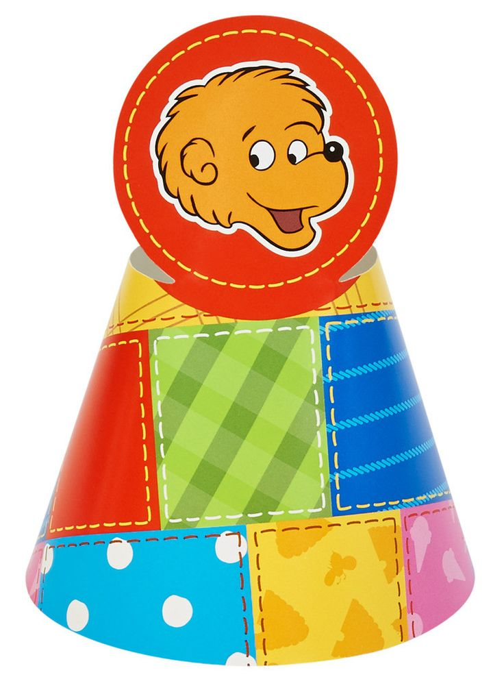 The Berenstain Bears Cone Hats 8