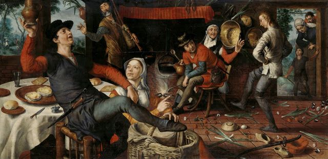 Pieter Aertsen, The Dance of Egg, 1552