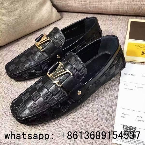 Louis Vuitton loafers men super AAA LV