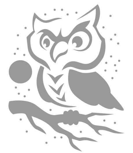 17 best ideas about owl pumpkin stencil on pinterest owl for Simple owl pumpkin pattern