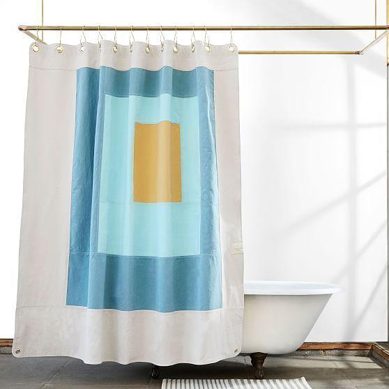 Quiet Town Marfa Shower Curtain Atlantic Home Improvement Curtains Shower