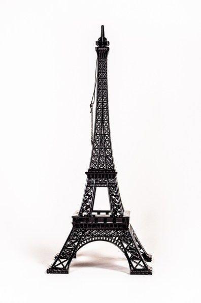 Merci Gustave - Eiffel tower Black large - mine ✔️