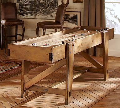 Shuffleboard Table #potterybarn