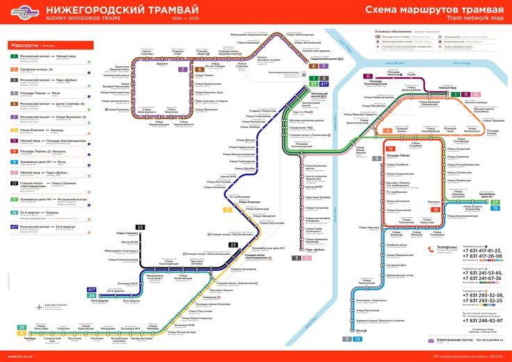 Транспорт трамвай - маршруты движения