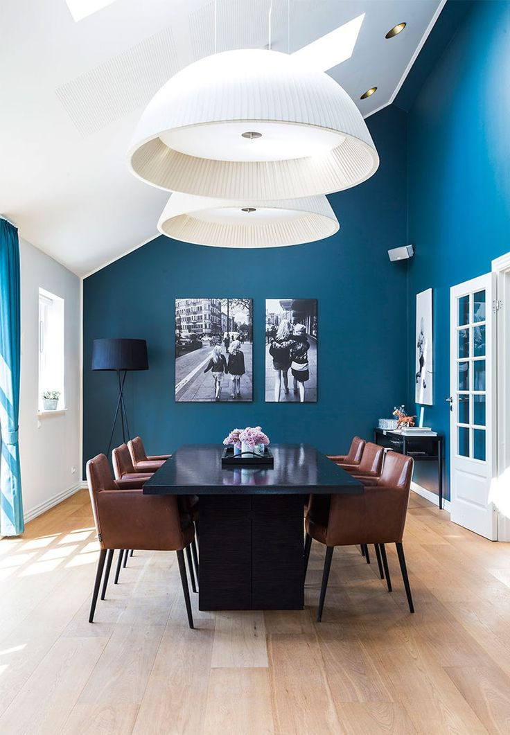 Beautiful Blue Dining Rooms: 25+ Best Ideas About Brown Dining Rooms On Pinterest