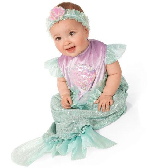 mini mermaid baby costume - Baby Mermaid Halloween Costume