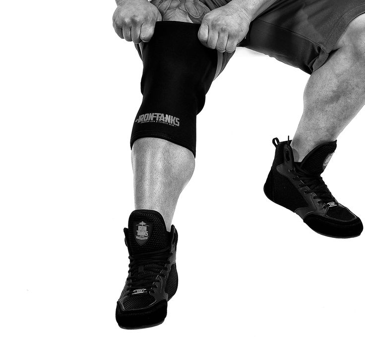 When you've found a training combination that is cryptonite to plateaus Our Titan gym shoe and 7mm Iron Knee Sleeve are a combo designed to dominate and push you through any sticking points. Time to wreak havoc and take it to the next level! This combo exclusive to irontanksgymgear.com Built #Iron Tough.