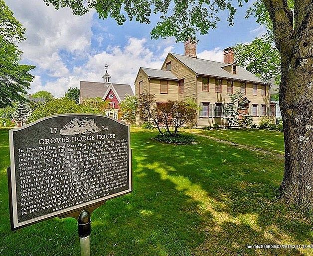 Historical Homes On Instagram Wiscasset Maine 1734 For Sale