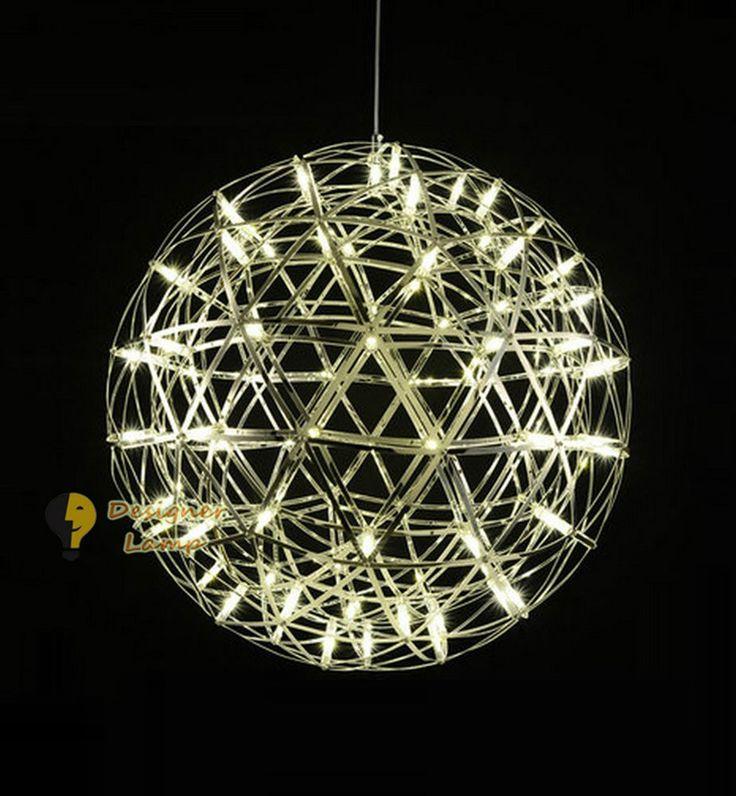 D45cm/65cm - LED Raimond Style Pendant Lamp Chandelier Ceiling Light Hanging in Home, Furniture & DIY, Lighting, Ceiling Lights & Chandeliers   eBay