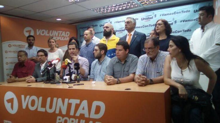 Jueves Santo movilización en los 335 municipios de todo el país Afirma la MUD | Noticiero Digital El Oriental