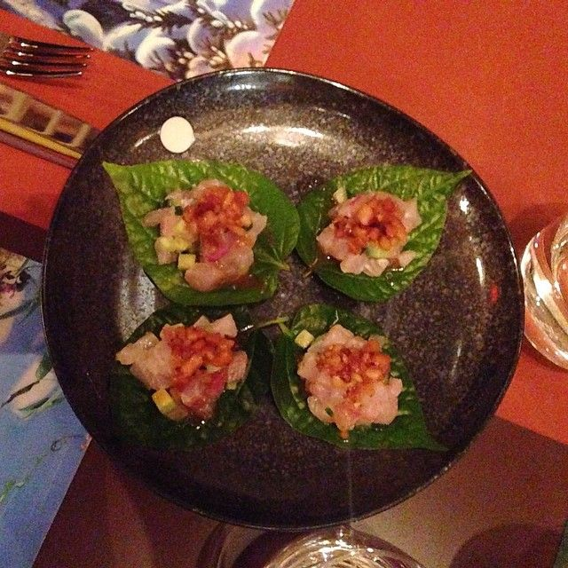Betel leaves at Lucy Liu | Eat My Words