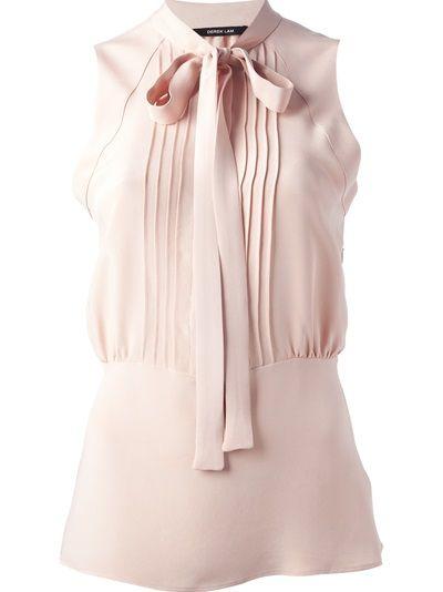 DEREK LAM Blusa Em Seda Rosa                                                                                                                                                                                 Mais