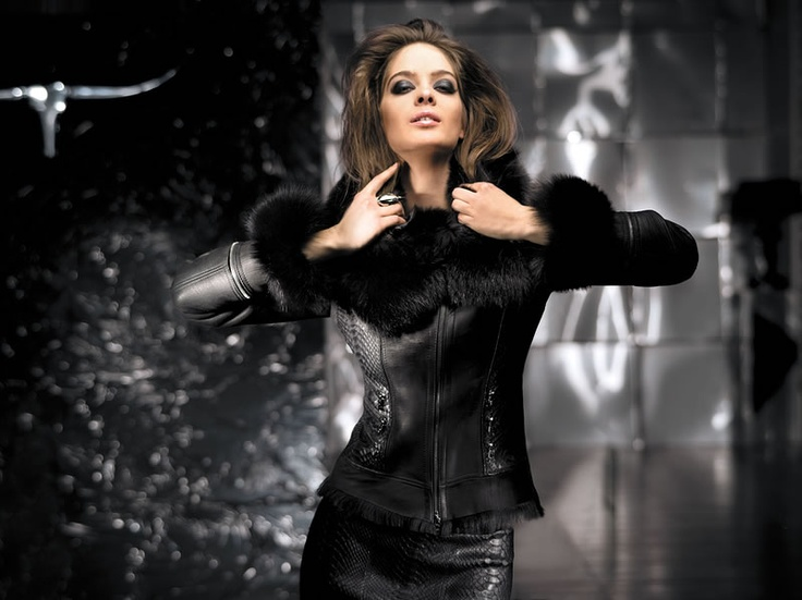 Aphero collection winter 2012  #leather #fashion #exclusive #design #fur #jacket
