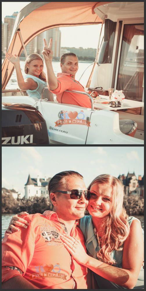 Свидание на яхте в День рождения/ Date on a yacht #rukaiserdce #рукаисердце #свидание #предложение #date #proposal #engagement #surprise #romantic