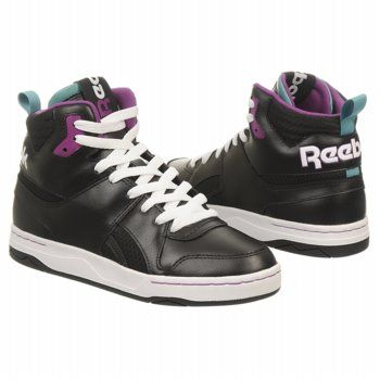 Reebok CL SHE-REBEL MID Shoes (Blk/Auberdine/Teal) - Women's Shoes - 8.5 M || British Indie Clothing - AcquireGarms.com