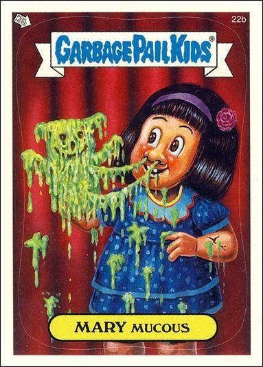 garbage pail kids | Garbage Pail Kids All-New Series... 22b A, Jan 2004 Trading Card by ...