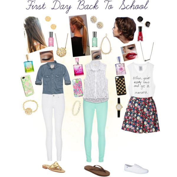 First Day Back To School Outfits 2013