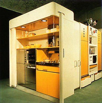 Joe Colombo Modular Kitchen