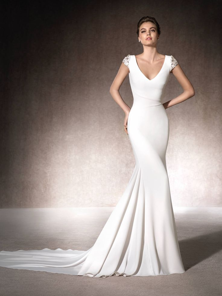 Robe de mariée sirène Melia