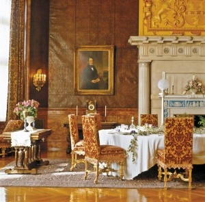 the breakfast room at biltmore the inspiration for our damask collection. beautiful ideas. Home Design Ideas